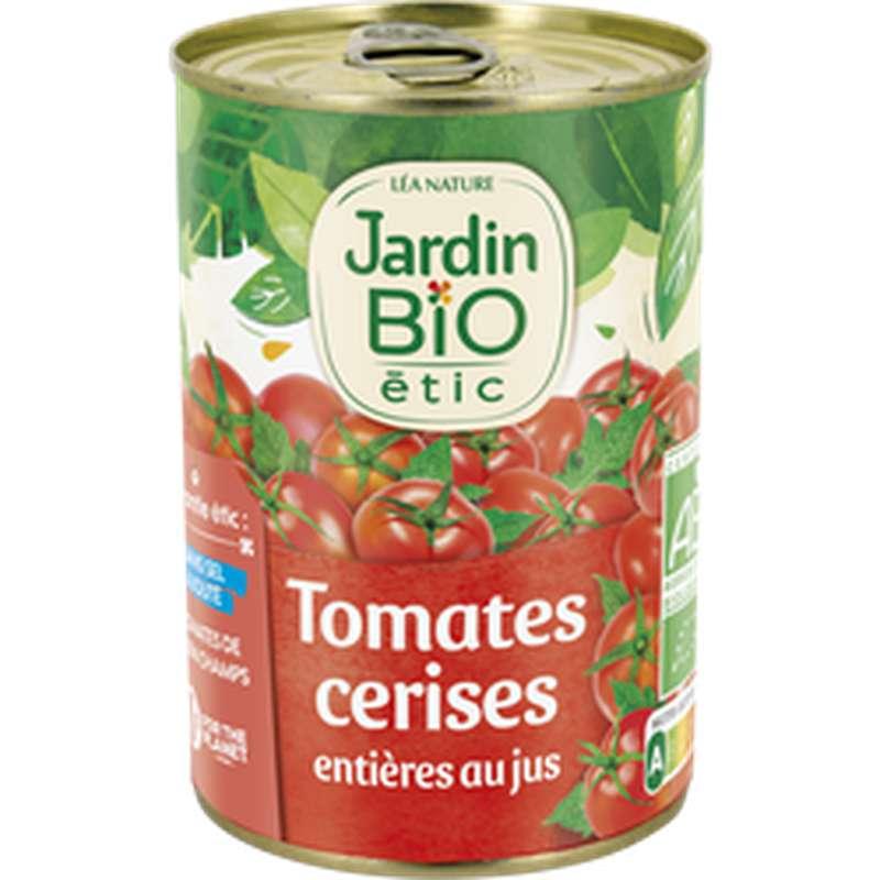 Tomates cerises entières BIO, Jardin Bio étic (400 g)