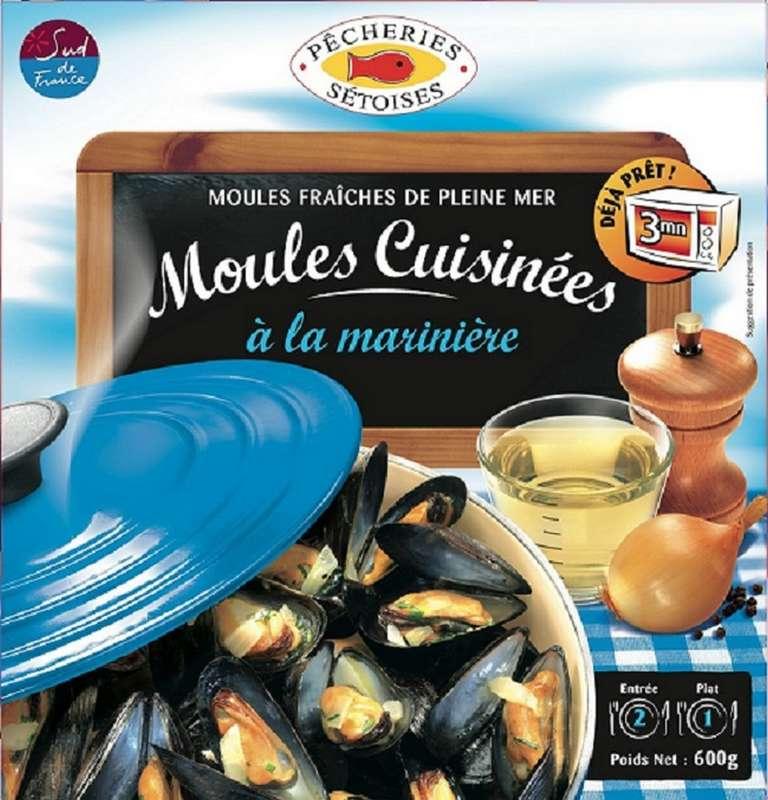 Moules marinières, Pêcheries Sétoises (600 g)