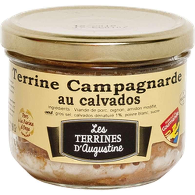 Terrine campagnarde au Calvados, Les Terrines d'Augustine (190 g)