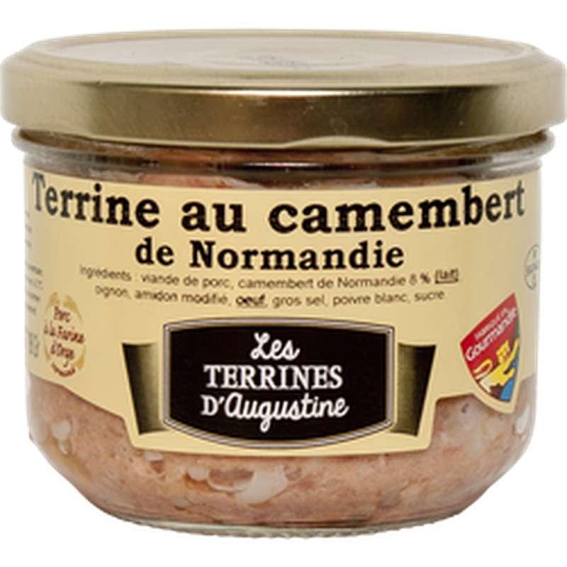 Terrine au camembert de Normandie, Les Terrines d'Augustine (190 g)