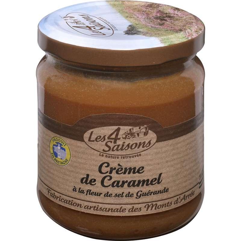Crème caramel et fleur de sel, Les 4 saisons (220 g)