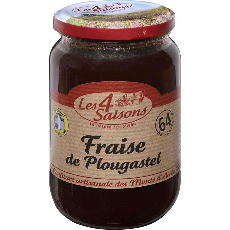 Confiture fraise de Plougastel, Les 4 saisons (400 g)