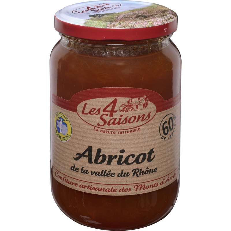 Confiture abricot, Les 4 saisons (400 g)