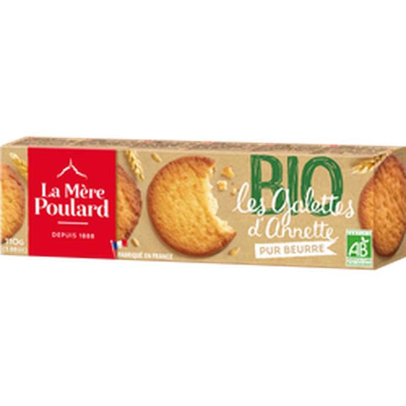 Galette pur Beurre BIO, Mère Poulard (110 g)
