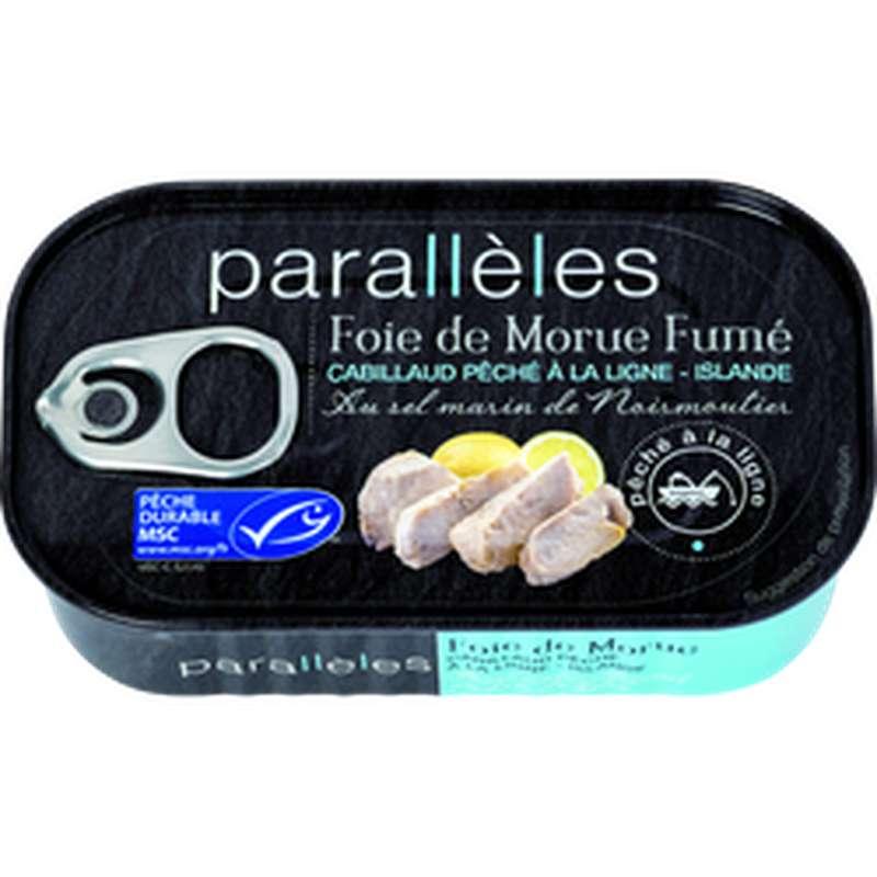 Foie de Morue fumé au feu de bois, Parallèles (121 g)
