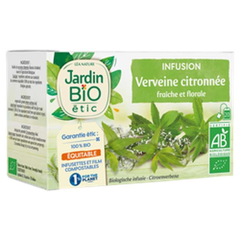 Infusion verveine Citronnée BIO, Jardin Bio (28 g)
