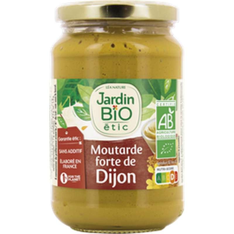 Moutarde forte de Dijon BIO, Jardin Bio étic (350 g)