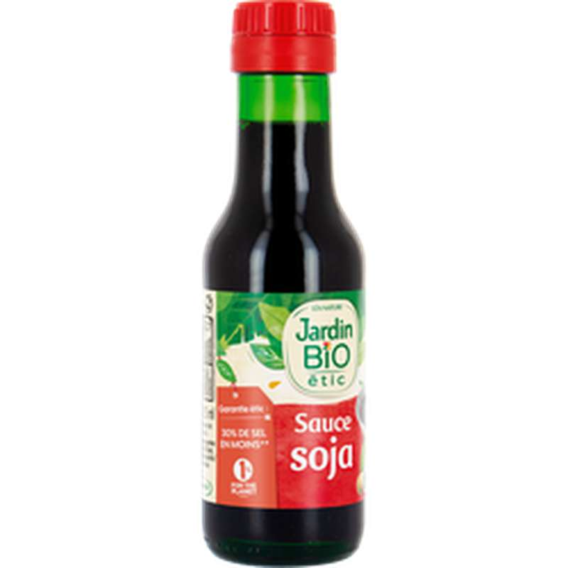 Sauce Soja BIO, Jardin Bio étic (125 ml)