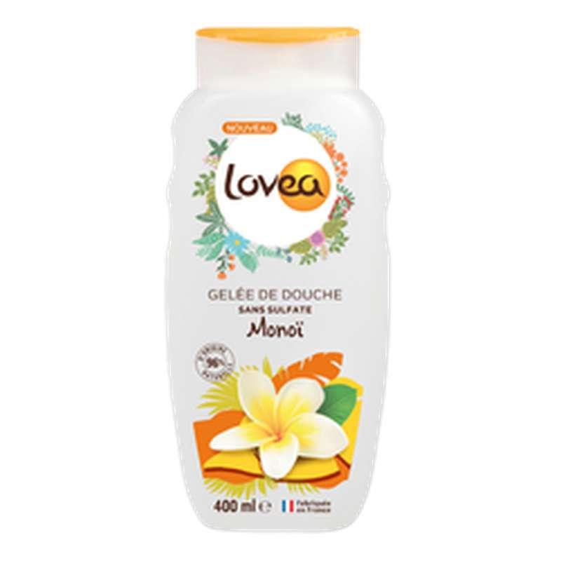 Gelee Douche Monoi sans sulfate, Lovea (400 ml)