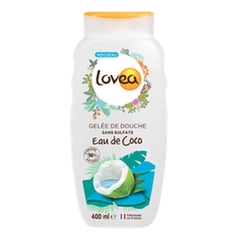 Gel douche Eau de Coco, Lovea (400 ml)