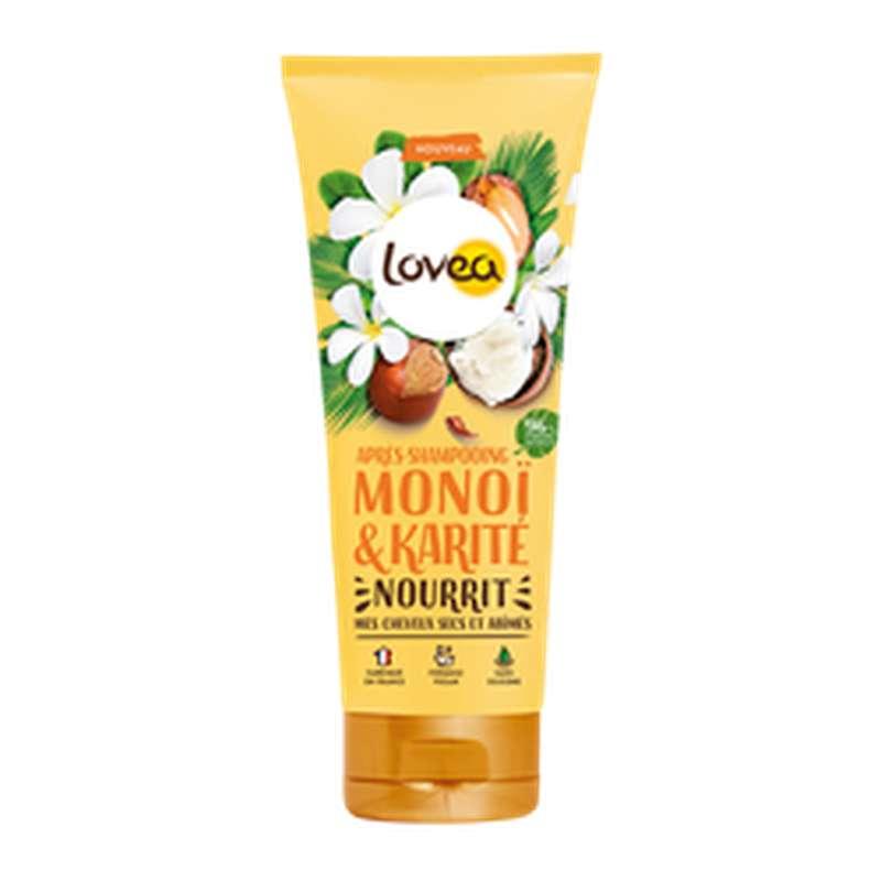 Après-shampoing cheveux secs & abimés, Lovea (200 ml)