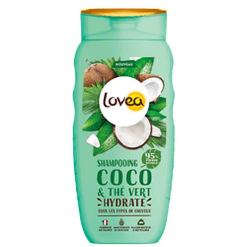 Shampoing coco & thé Vert, Lovea (250 ml)