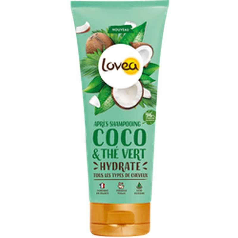 Après-shampoing coco & thé vert, Lovea (200 ml)