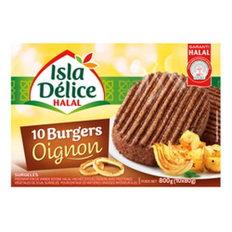 Burger Oignon halal, Isla Delice (800 g)