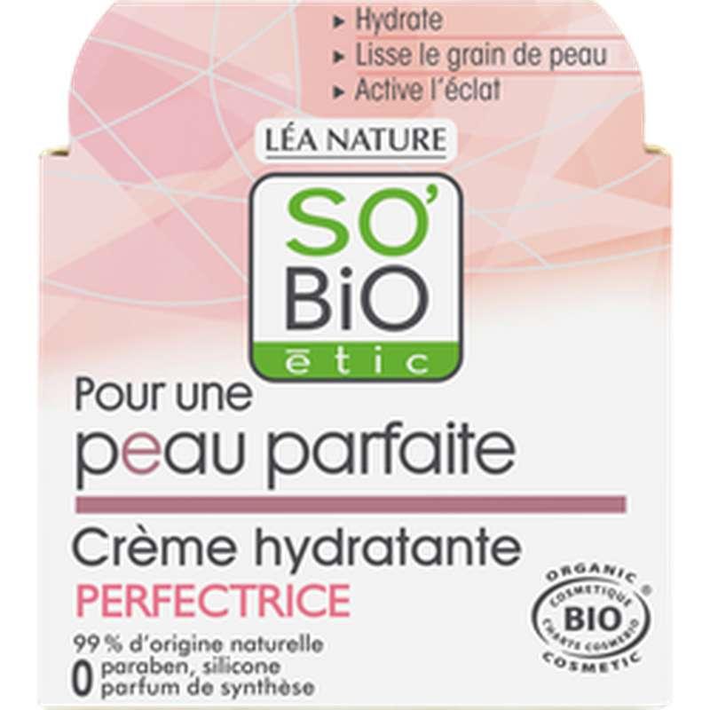 Crème hydratante perfectrice peau parfaite BIO, So'Bio Etic (50 ml)