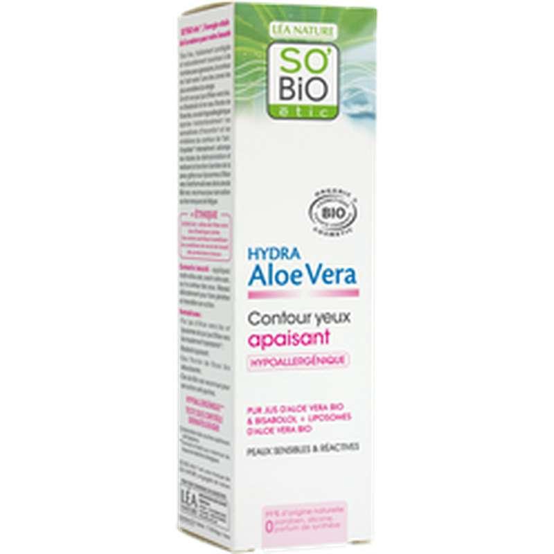 Contour des yeux apaisant - Hydra Aloe Vera BIO, So'Bio Etic (15 ml)