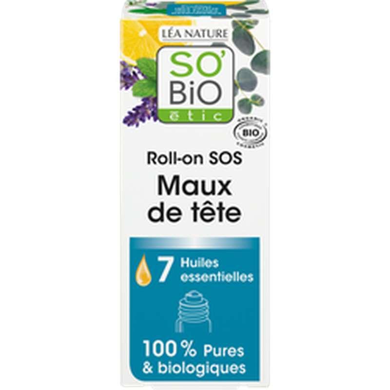 Roll-on SOS Maux de tête BIO, So'Bio Etic (5 ml)