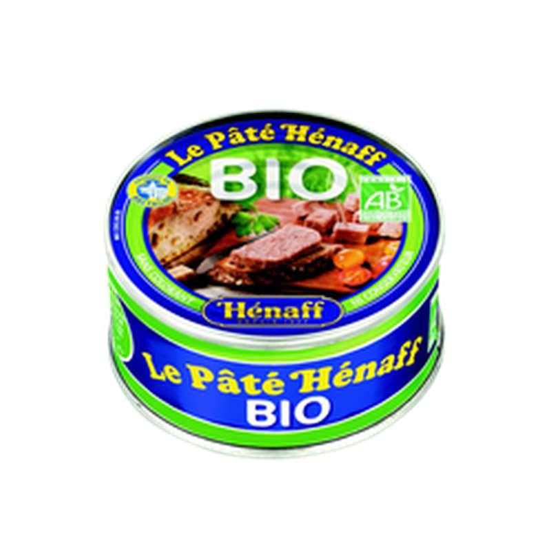 Pâté pur porc au sel de guérande BIO, Henaff (154 g)
