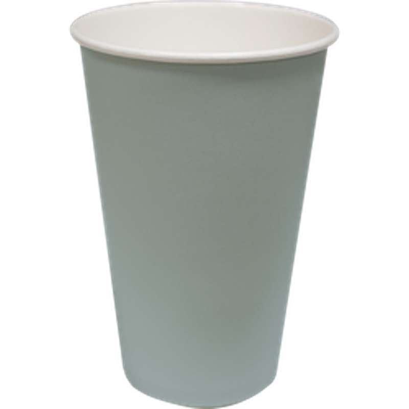 Gobelets en carton gris 36 cl (x 10)