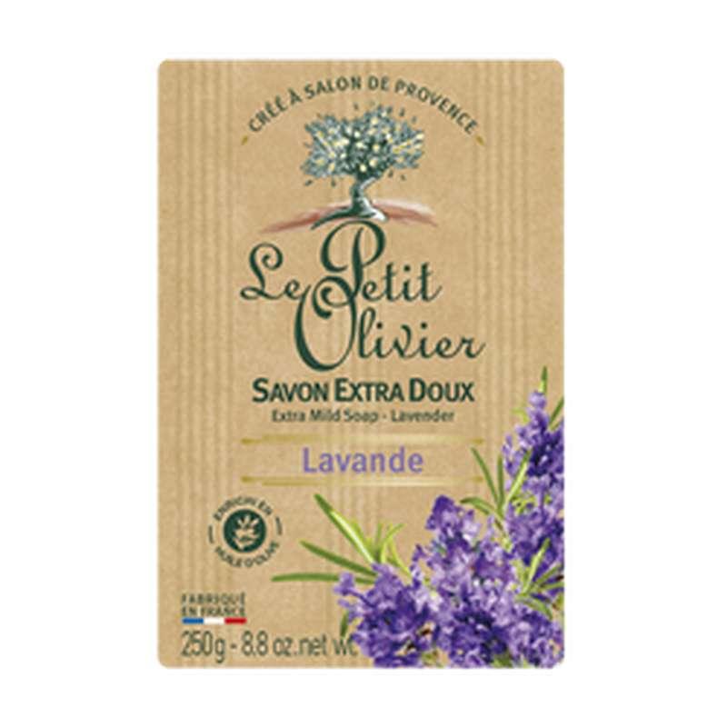 Savon extra doux à la lavande, Le Petit Olivier (250 g)