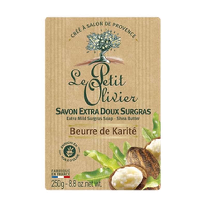 Savon extra doux au karité, Le Petit Olivier (250 g)