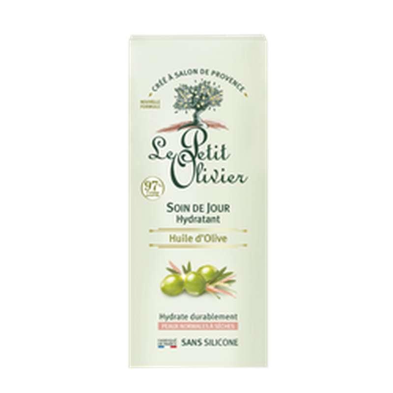 Soin de jour hydratation intense à l'huile d'olive, Le Petit Olivier (50 ml)