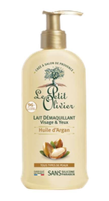 Lait démaquillant à l'huile argan, Le Petit Olivier (200 ml)