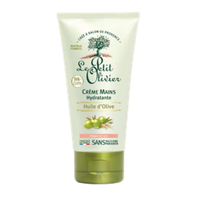 Crème hydratante pour les mains à l'huile d'olive peaux sèches, Le Petit Olivier (75 ml)