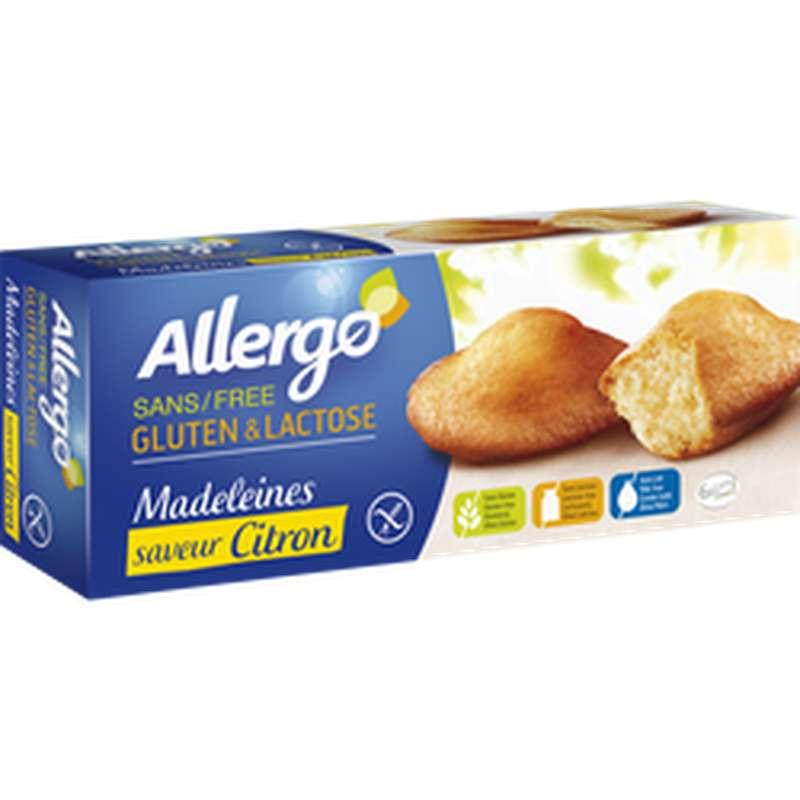 Madeleines saveur citron sans gluten ni lactose, Gerblé (x 6, 180 g)