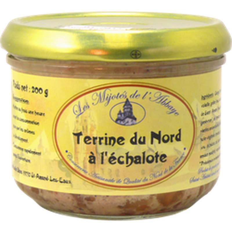 Terrine du Nord à l'échalote, Les Mijotés d'Abbaye (200 g)