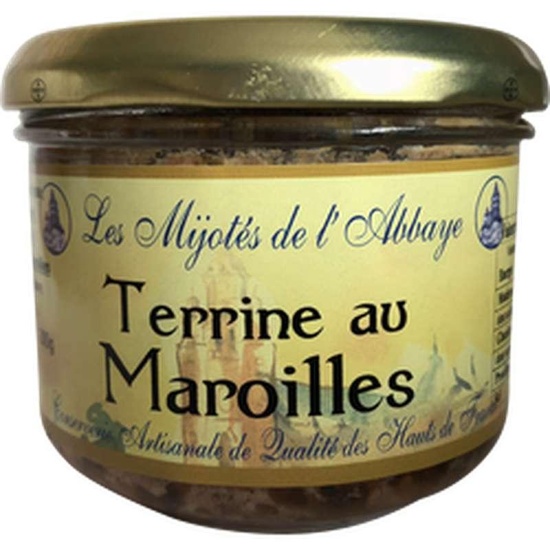 Terrine au maroilles, Les Mijotés d'Abbaye (200 g)