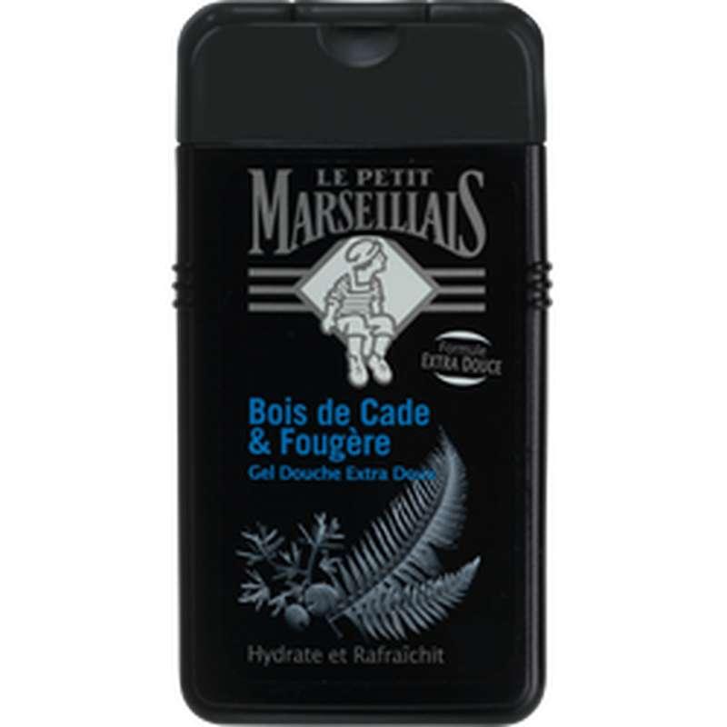Gel douche extra doux parfum bois de cade et fougère, Le Petit Marseillais (250 ml)