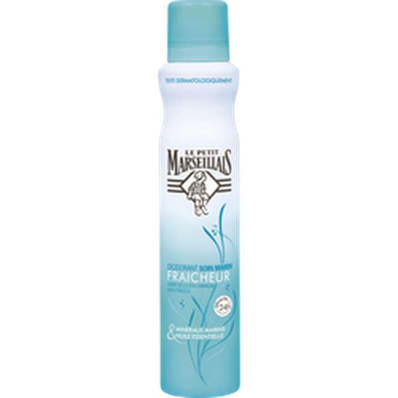 Déodorant soin marin Fraîcheur, Le Petit Marseillais (200 ml)