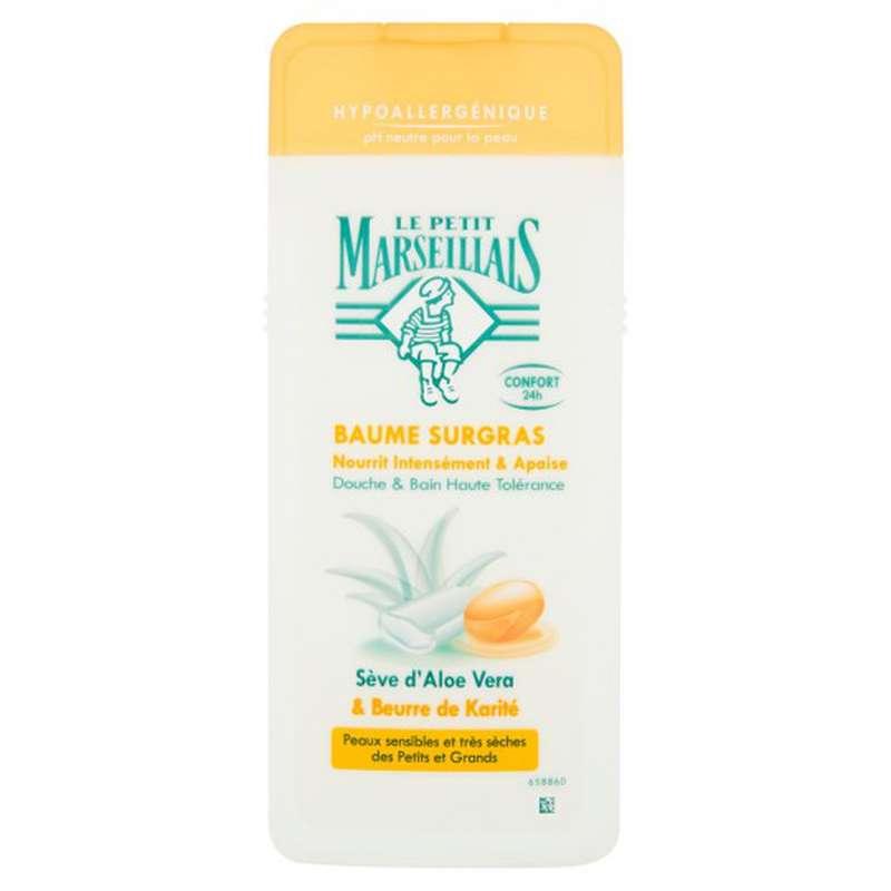 Gel douche sève aloe vera & karité, Le petit Marseillais (650 ml)