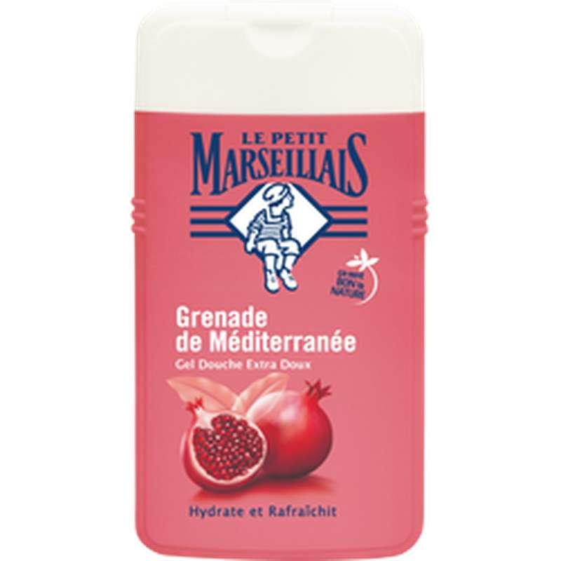 Gel douche parfum grenade de méditerranée, Le Petit Marseillais (250 ml)