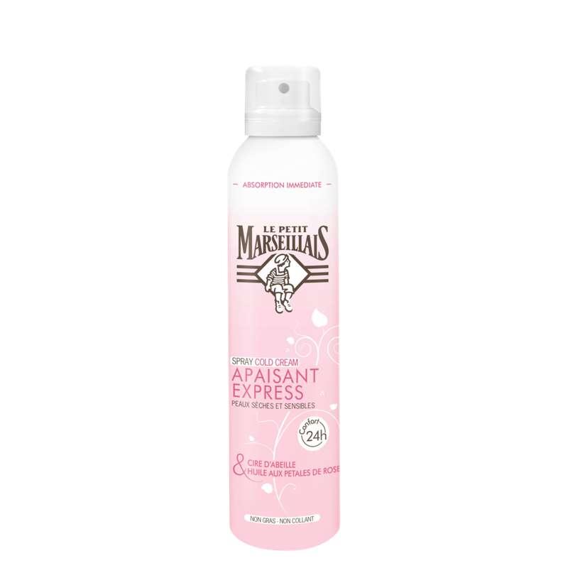 Déodorant spray apaisant express pour peaux sèches, Le Petit Marseillais (200 ml)