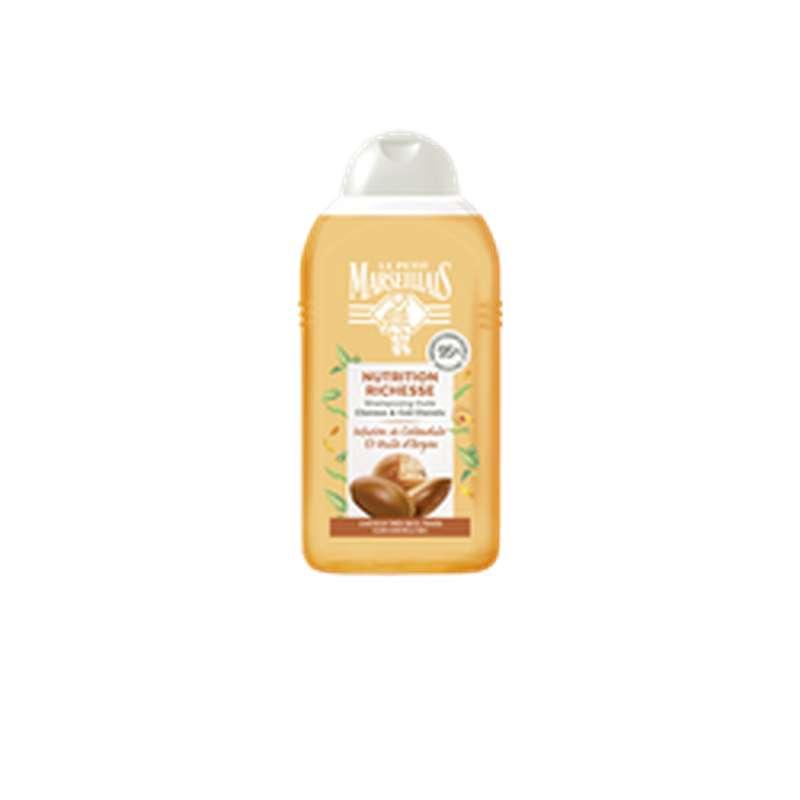 Shampoing nutrition richesse calendula & argan, Le Petit Marseillais (250 ml)