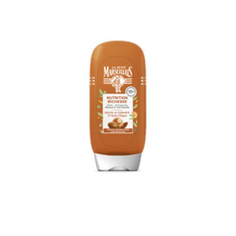 Après-shampoing infusion calendula et argan, Le Petit Marseillais (200 ml)