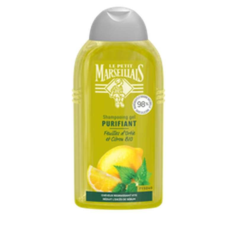 Shampoing purifiant ortie & citron, Le Petit Marseillais  (250 ml)