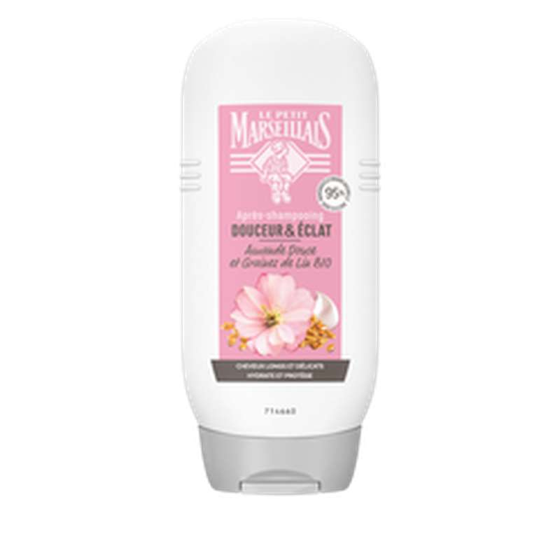 Après-shampoing amande & Lin, Le Petit Marseillais (200 ml)