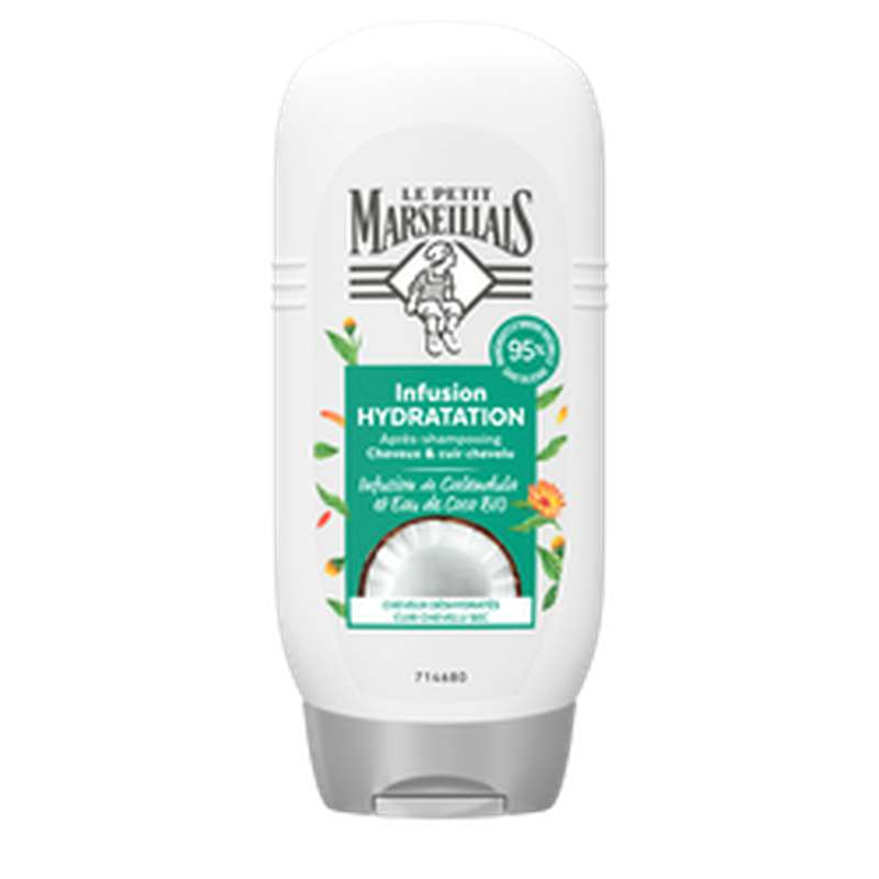 Après-shampoing hydratation coco et calendula, Le Petit Marseillais (200 ml)
