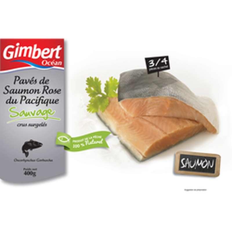 Pavé saumon sauvage, Gimbert Ocean (400 g)