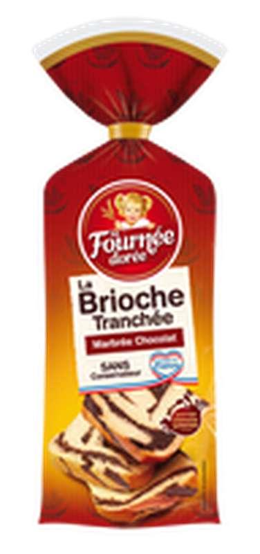 Brioche tranchée marbrée, La Fournée Dorée (400 g)