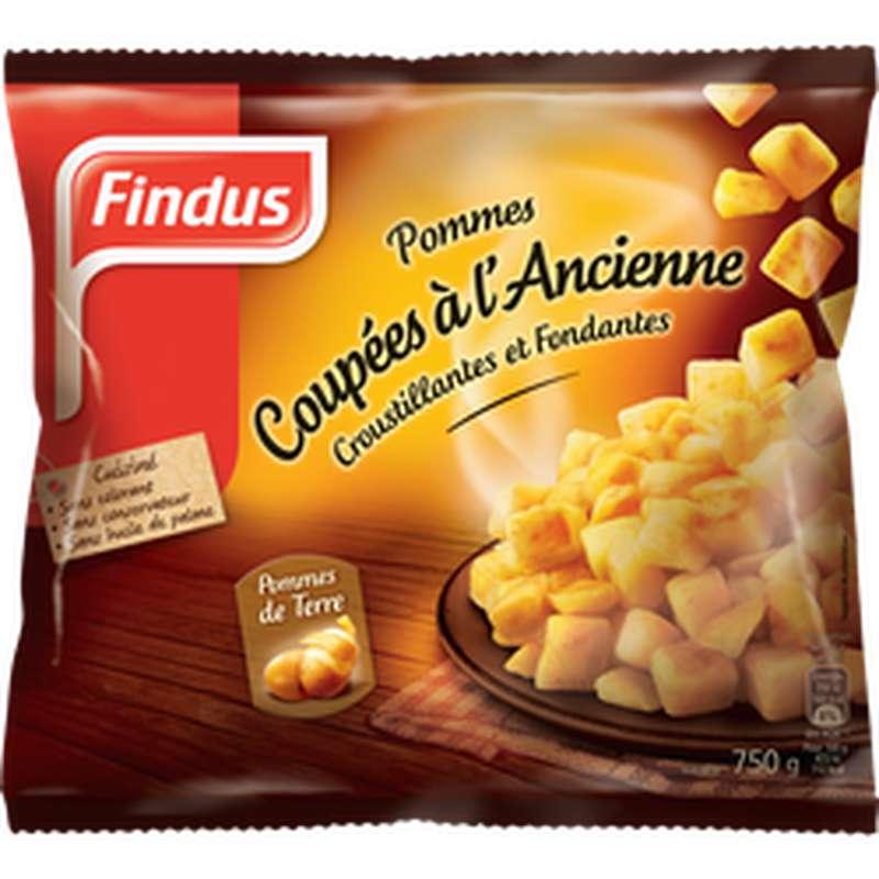 Pommes de terre coupées à l'ancienne, Findus (750 g)