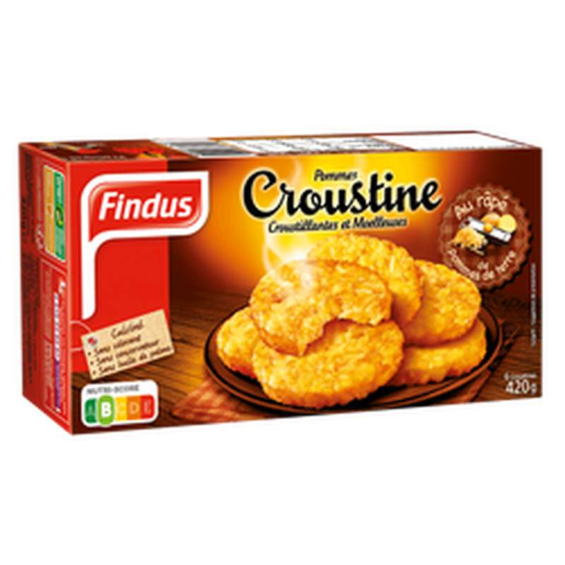 Pomme Croustine, Findus (420 g)