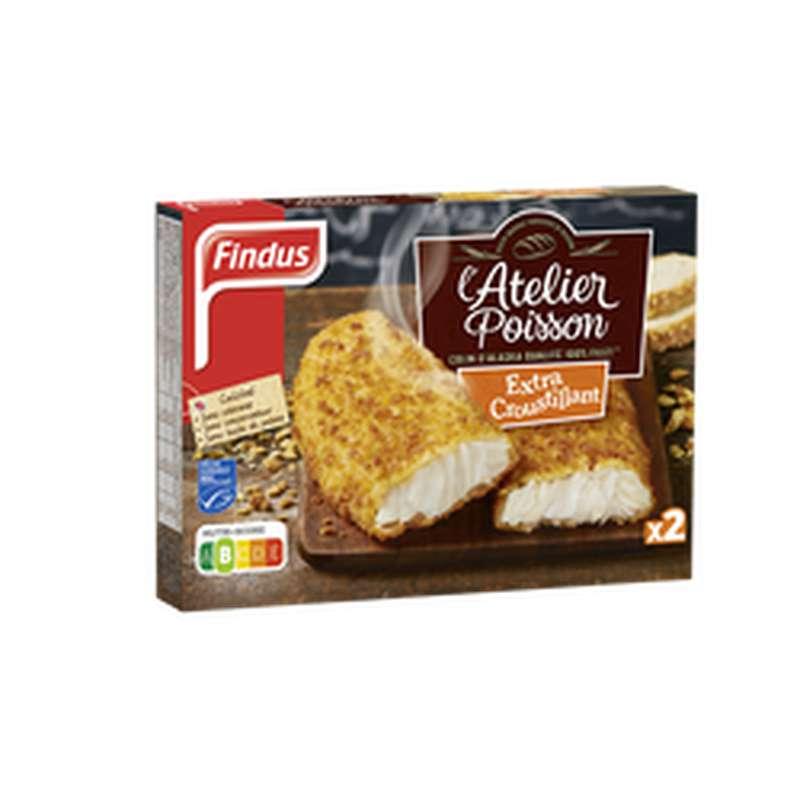 Colin d'Alaska extra-croustillant, Findus (250 g)