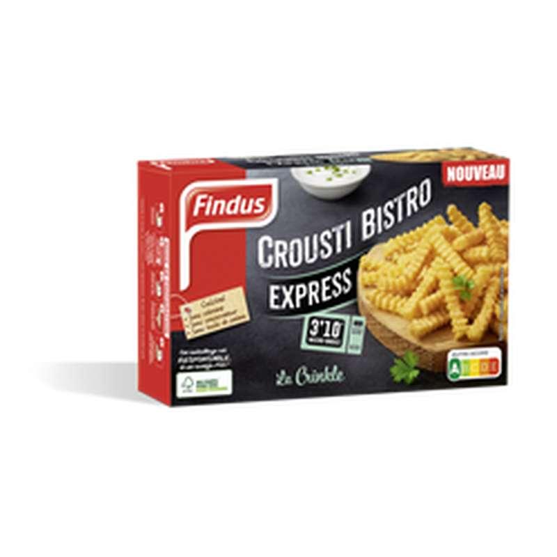 Frites Crousti'bistro la Crinkle, Findus (x 2, 130 g)