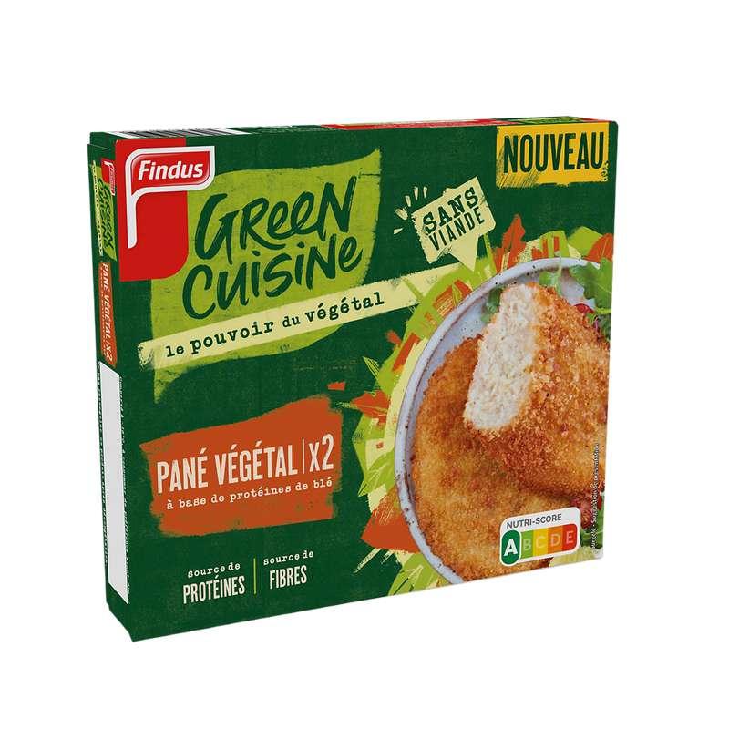 Pané végétal green cuisine, Findus (x 2, 200 g)