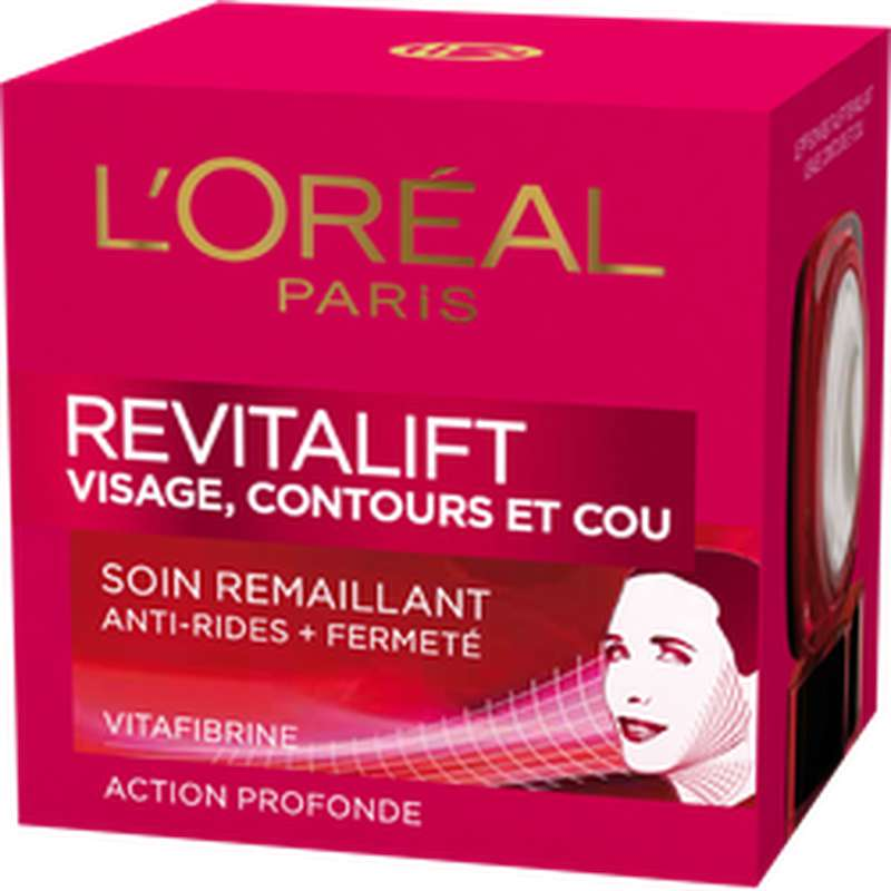 Soin anti-rides fermeté cou et contour Revitalift, L'Oréal  (50 ml)