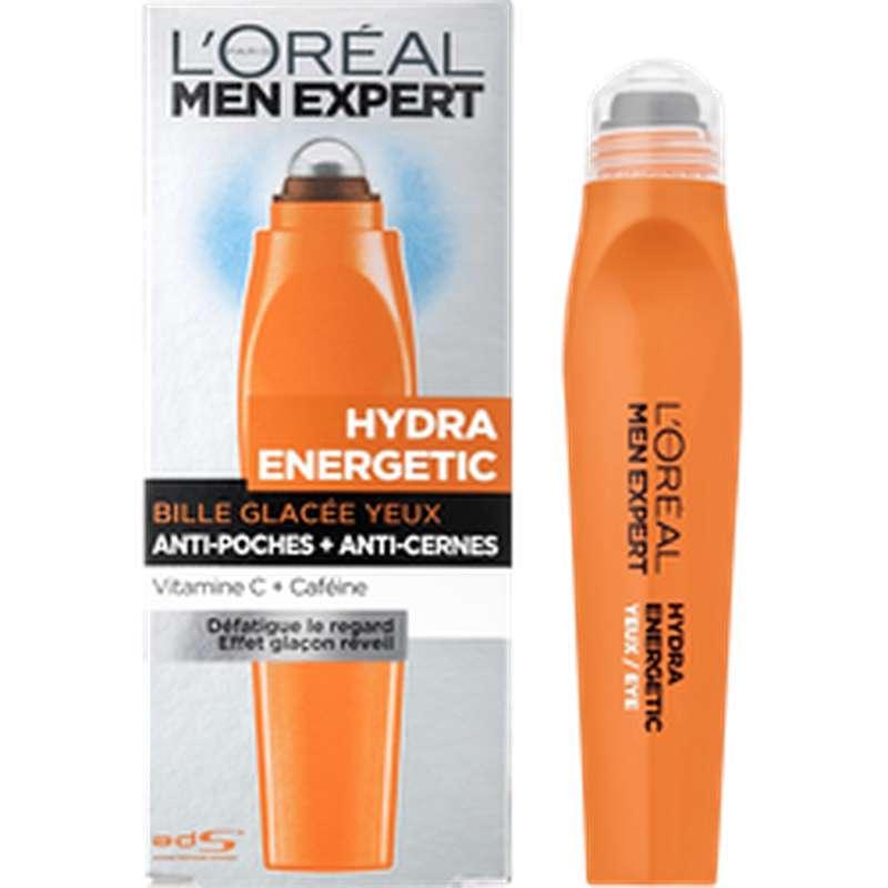 Soin contour des yeux pour homme Hydra Energetic, L'Oréal (10 ml)